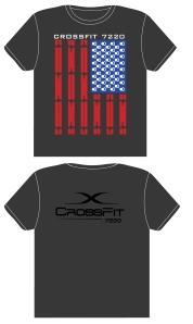CrossFit Flag T-SHIRT_ATHLETE